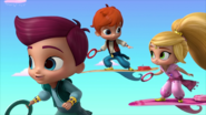 Kaz and Zac Toss Shimmer and Shine