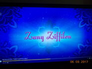 Zany Ziffilin title card