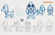 Shimmer and Shine Rocket Production Sketches