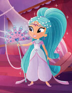 Shimmer and Shine Princess Samira Illustrated