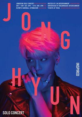 Jonghyun - INSPIRED - Poster B