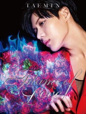Taemin - Flame of Love - CD+DVD Cover
