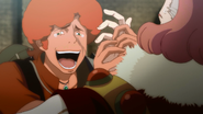 Favaro thanking the king