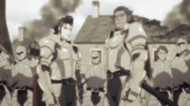 Kaisar and Dias at the Young girl's village 1