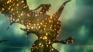 Bahamut being defeated