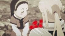 Young girl blushing 1