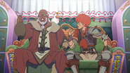 Favaro wanting his reward from Bacchus