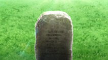 The grave of Chris' mother 1
