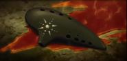 El's ocarina with El's blood