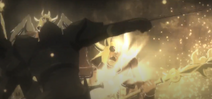Onyx Knight killing a god01