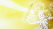 Uriel attacking Jeanne