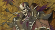 Dante's dead body