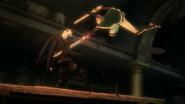 Kaisar stabbing Azazel
