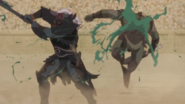 Buer kills another demon 1