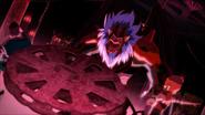 Favaro and Kaisar attacking Pazuzu