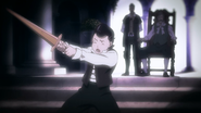 Kaisar training as young