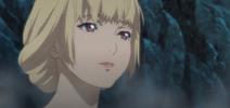 Jeanne while taking a bath
