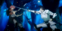 Kaisar slices the dagger in half 1