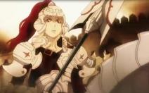 Jeanne holding Maltel