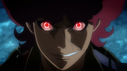 Favaro turning into a demon