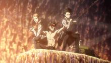 Levi y Jean liberan a Eren