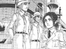Pieck recuerda al soldado que la embosco