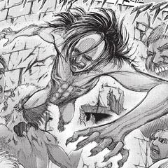 Ymir en su forma titán