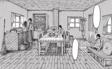 Eren imagina su viejo hogar