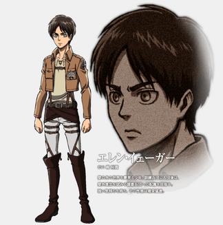Eren-Chara Design