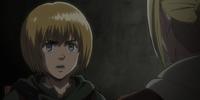 Armin pidiendo ayuda