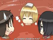 Mikasa y Eren encuentran a Armin