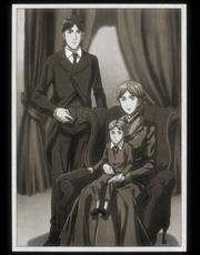 Grisha con su antigua familia