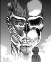 Armin ve al fantasma del Titán Colosal
