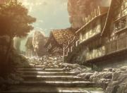 Casa de los Jaeger destruida
