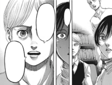 Armin piensa en la posibilidad de que Eren sea devorado
