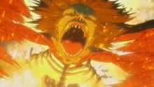 Ymir convirtiendose en titan