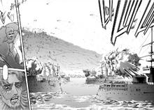 Zeke ataca a la flota