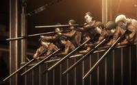 El grupo del acensor se prepara para cegar a los titanes