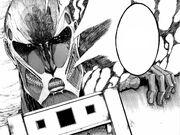 El titán colosal se asoma