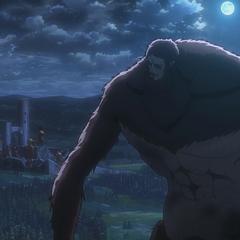 El Titán Bestia observa el castillo Utgard
