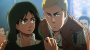 Pregunta de Irvin hacia Eren