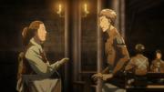 Jean se encuentra con su madre