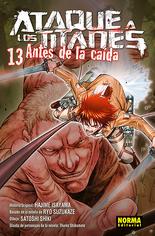 Antes de la caida volumen 13 (Norma)