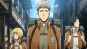 Jean, Armin y Marco llegan a Trost.