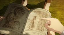 Ymir y el demonio en el libro de Frieda
