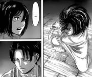 Mikasa afirma haber experimentado un poder