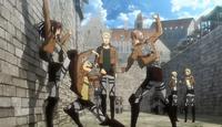 Sasha, Conny y Jean pelean