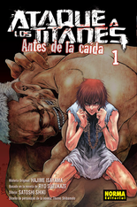 Antes de la Caida (portada español)