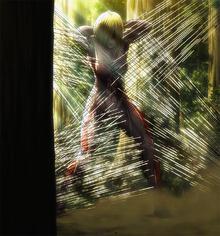 La titan mujer atrapada