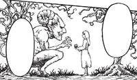 Ymir Fritz hace un pacto con el demonio